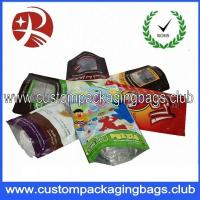Wholesale Printed Laminated Plastic Food Packaging Bags , Resealable Stand Up Pouches For Food Packaging from china suppliers