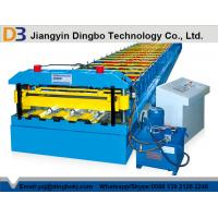 Wholesale Trapezoidal Profile Floor Deck Roll Forming Machine With Color Coated  from china suppliers
