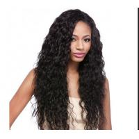 Wholesale Water Wave / Kinky Curly Human Hair Wigs 100% Brazilian Wig , Hair Extension Double Wefted from china suppliers