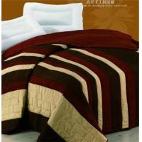 Wholesale silk of handmade patch wor quilt,velvet&silk of stiching quilt,double side silk of handmade quilt from china suppliers