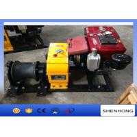 Wholesale Tower Erection Mechanical Device Diesel Cable Winch 8 Ton With 10HP Diesel Engine from china suppliers