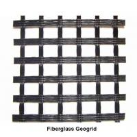 Wholesale Fiberglass Geogrid Reinforcement,Fiberglass Pavement Mesh for Railway,White,Black from china suppliers