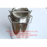 Wholesale SS304 Milk Cans , 20L Milk Bucket For Milk Transportation and Storage from china suppliers