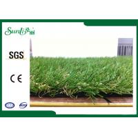 Wholesale Durable Outdoor Artificial Turf For Gardens , Excellent Performance from china suppliers