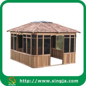 Wholesale Modern Outdoor Wooden Gazebo,Hot Tub Wooden Gazebo,Garden Gazebo(WG-11) from china suppliers