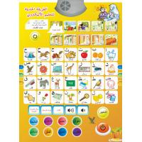 Wholesale Children Education Plastic ABS board and paper Arabic Alphabet Chart for taking and read from china suppliers