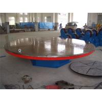 Wholesale 4000 mm Table Diameter Welding Rotary Positioner , 3 T Motorized Rotating Table from china suppliers