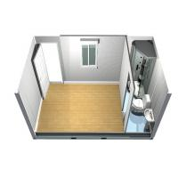 Wholesale Demountable standard Flat Pack Houses Office , Container Modular Homes from china suppliers