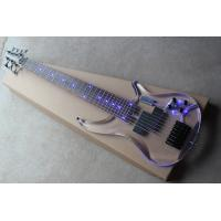 Wholesale Top Quality Factory Custom 7 string crystal electric bass transparent acrylic Body with LED light from china suppliers