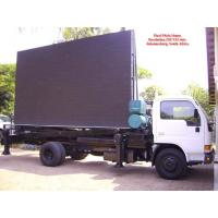 Wholesale Aluminum or Iron Full Color Led Mobile Billboard on Vehicles P10 1R1G1B IP65 220V / 50Hz from china suppliers