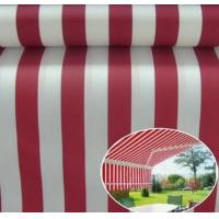 Wholesale Sunshade Polyster Fabric Yellow Stripe Outdoor UV Protection Polyester Fabric Awnings, Boat covers, bimini tops, sail-co from china suppliers