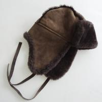 China High quality Australia shearling custom trapper hat on sale