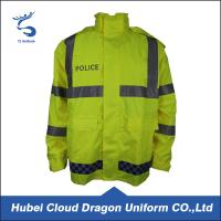 Wholesale Fluorescence Hi Vis Waterproof Jacket / Winter Safety Jackets Reflective from china suppliers