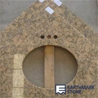Wholesale Giallo Fiorito Granite Vanity Top from china suppliers
