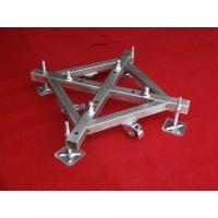 Wholesale 500mm x 500mm Iron Base Caster Truss Coupler For Aluminum Roof Truss from china suppliers