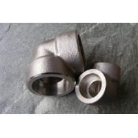 Quality ASTM B16.11 Material 304 Stainless Steel Pipe Fittings 90 Degree NPT Thread Elbow DN6 - DN100 for sale