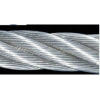 Wholesale DIN , BS Standard 6mm 3mm Stainless Steel Wire Rope PVC Coated For Construction from china suppliers