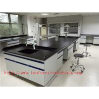 Wholesale Resistance To  Corrosion /  Acid / Alkali 3000 mm Blue  Science Lab  Furniture  Designs  For  Laboratory from china suppliers