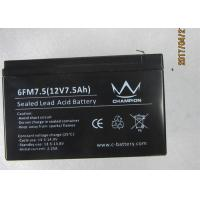 Wholesale Good discharge current 12v7.5ah long life lead acid battery UPS and inverter use from china suppliers