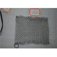 Wholesale Square Shape Stainless Steel Chainmail Scrubber Non - Toxic For Kitchen from china suppliers