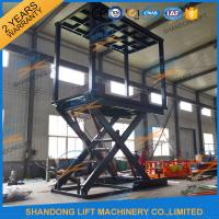 Wholesale 5T 3.7M Portable Double Deck Car Parking System Home Scissor Car Lift for 2 Car from china suppliers