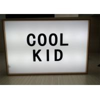 Wholesale Vintage Style USB Cinematic Light Box with Retro Light Up Letter A4 Size from china suppliers