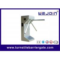 Wholesale Semi Automatic Tripod Turnstile Gate Access Control system for bus station , community from china suppliers