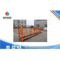 Wholesale Painted Swing Stage Scaffold For Maintain And Clean Building External Walls from china suppliers