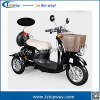 Wholesale elder disable passenger drive electric mobility tricycle with driving speed 25km/h from china suppliers
