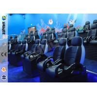 Quality Interactive Arc Screen 4D projector cinema simulation 4D Movie Theater 4D cinema system for sale
