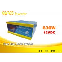 Wholesale High Efficiency 93% Solar Inverter Online12v Dc 220v Ac Single Phase Output 600w from china suppliers