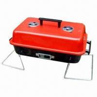 China Portable/Charcoal BBQ Grill, Outdoor Grill, Includes Three-piece BBQ Tools on sale