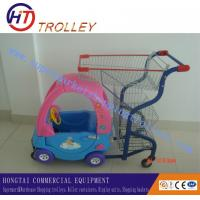Wholesale Plastic / Steel Indoor Colored Children Shopping Carts for Shopping Mall from china suppliers