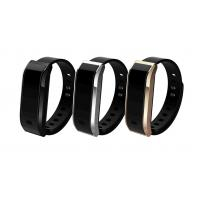 Wholesale Unisex Multifunction OLED Digital Watch , Aluminium Alloy Rubber Band Bluetooth Smart Watch from china suppliers