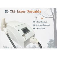 Buy cheap Pigment Removal 1320nm 1064nm 523nm Nd Yag Laser Tattoo Removal Home Use Carbon Peel from wholesalers