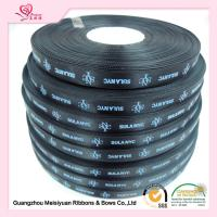 Quality 10 mm Black Custom Printed Ribbon for Christmas thermal transfer Printing process for sale