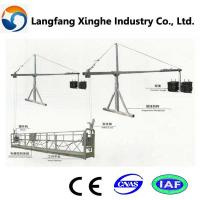 Wholesale zlp temporary gondola/ hanging gondola for building maintenance from china suppliers