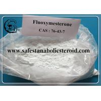 Wholesale Fluoxymesterone Oral Anabolic Steroids Muscle Building Steroids CAS 76-43-7 Assay 99% from china suppliers