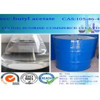 Wholesale Sec Butyl Acetate Oil paint Solvent CAS 105-46-4 Color Liquid With Fruit Fragrance from china suppliers