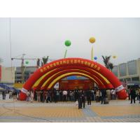 Wholesale Red Inflatable Advertising Tent / Inflatable Arch For Outside Party from china suppliers