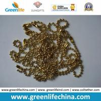 Wholesale Fashionable Hot Selling Shinny Golden Metal Snake Ball Chain from china suppliers