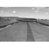 Wholesale 30KNM Durable PP Plastic Biaxial Geogrid For Dike / Road Bed , Grey from china suppliers