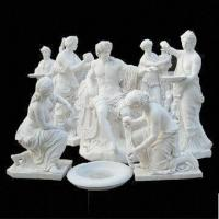 Wholesale Apollo White Marble Statue for Garden, with Hand Carved and Polished Technic from china suppliers