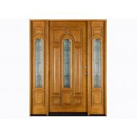 Wholesale Yellow Color Exterior Timber Doors 2000 * 800 * 40 mm for Villas from china suppliers