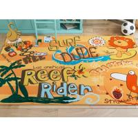 Wholesale Simple Pattern Custom Area Rugs Wear Resistance For Kitchen / Bedroom from china suppliers