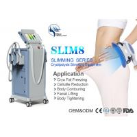 Wholesale 4 Handles Silmultaneous Working Cryolipolysis Body Slimming Fat Removal Machine from china suppliers