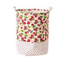 Quality Printing Fabric Cloth Folding Laundry basket for sale