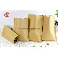 Wholesale Aluminum Foil Lined Kraft Paper Food Bags For Candy / Coffee / Tea Packaging from china suppliers