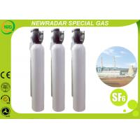 Non Flammable Compressed Gas Sulfur Hexafluoride Gas Electronic Grade