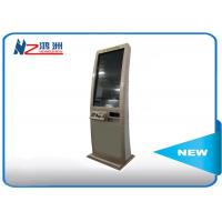 Wholesale Single Touch Screen Windows System Self Checkout Kiosk Free Standing In Restaurant from china suppliers